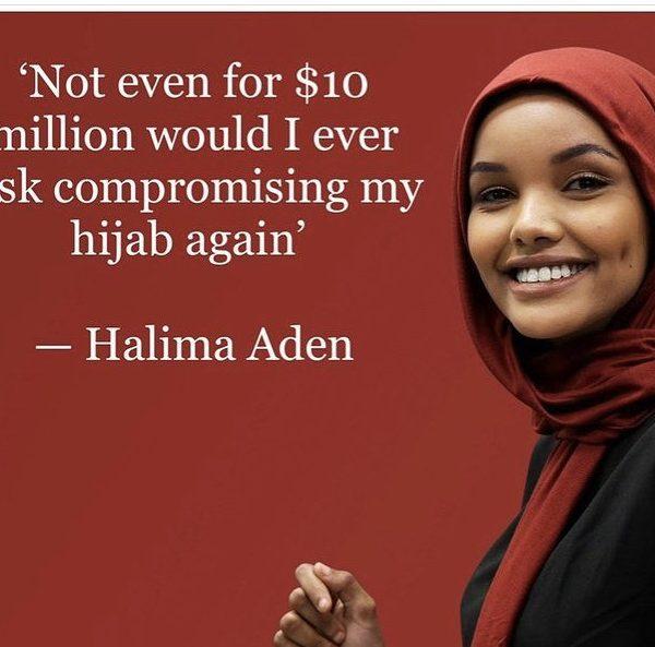 Halima Aden quits modeling